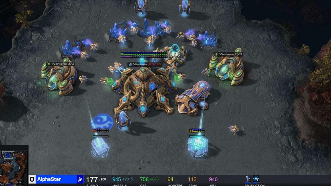AlphaStar,  l'IA de Google Deepmind, a battu des joueurs pro à Starcraft