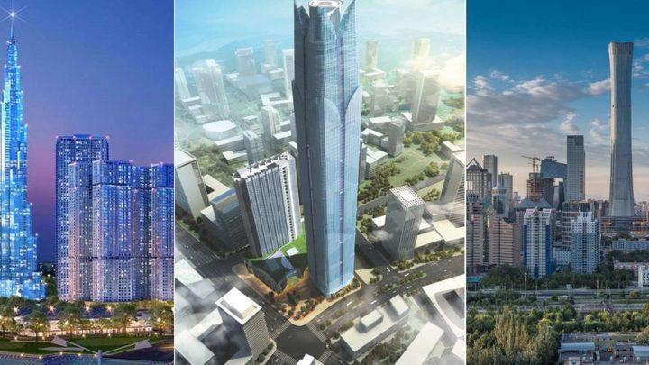 Les plus hauts gratte-ciel construits en 2018