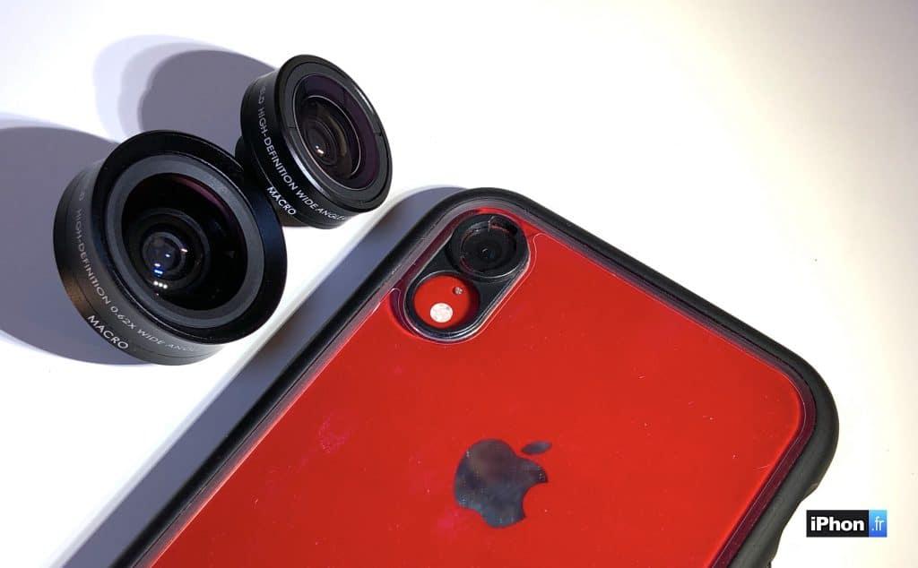 Apple  imagine un système intégré pour adapter des objectifs photos sur l'iPhone