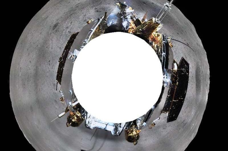 Découvrez la première photo panoramique de la face cachée de la Lune