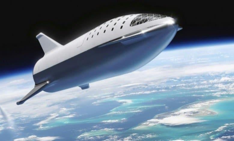 Le  prototype de la fusée de SpaceX décapité par le vent