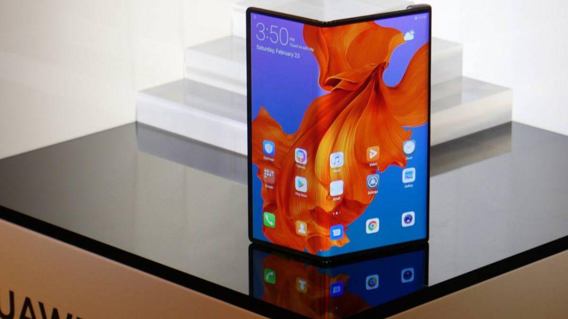 Huawei dévoile son smartphone pliable 5G