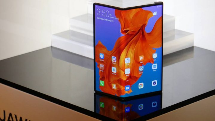 Huawei dévoile son smartphone pliable 5G