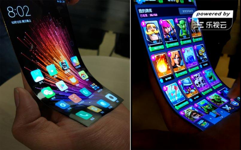 Xiaomi présente sur son prototype de smartphone pliable