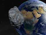 Asteroide Terre Planete Heurter Espace
