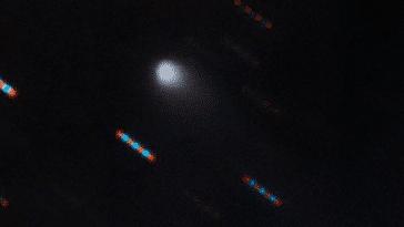 La comète, appelée 2I / Borisov