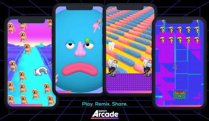Giphy Arcade vous permet de créer des micro-jeux avec des stickers