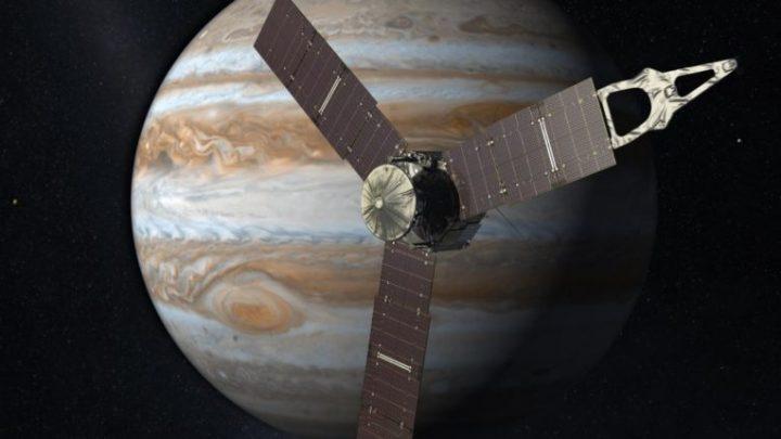 La sonde spatiale Juno de la NASA capture une superbe image des nuages gazeux de Jupiter