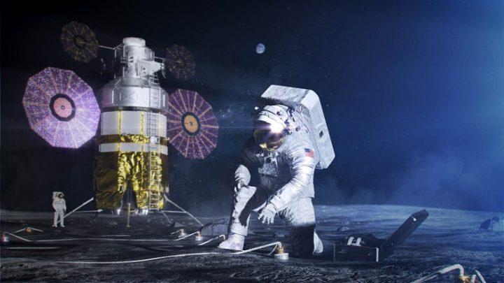 Voici la nouvelle combinaison spatiale de la NASA que les astronautes porteront sur la Lune