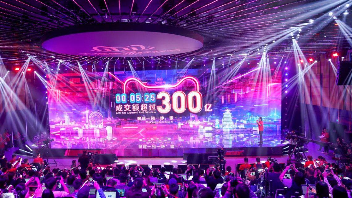 Les ventes du jour des célibataires d'Alibaba ont atteint 23 milliards de dollars