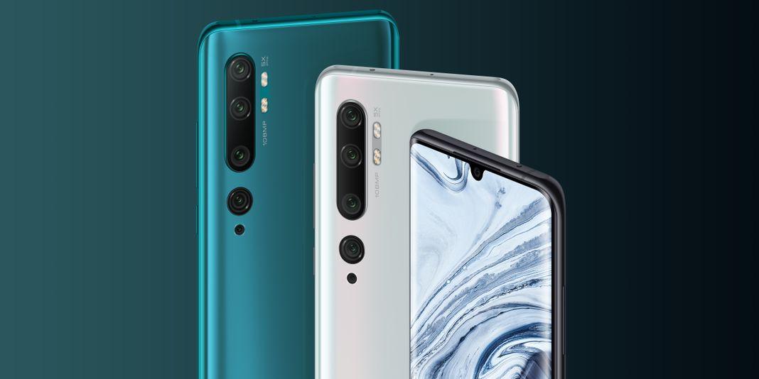 Xiaomi Mi Note 10 à 360€ en promo sur Gearbest
