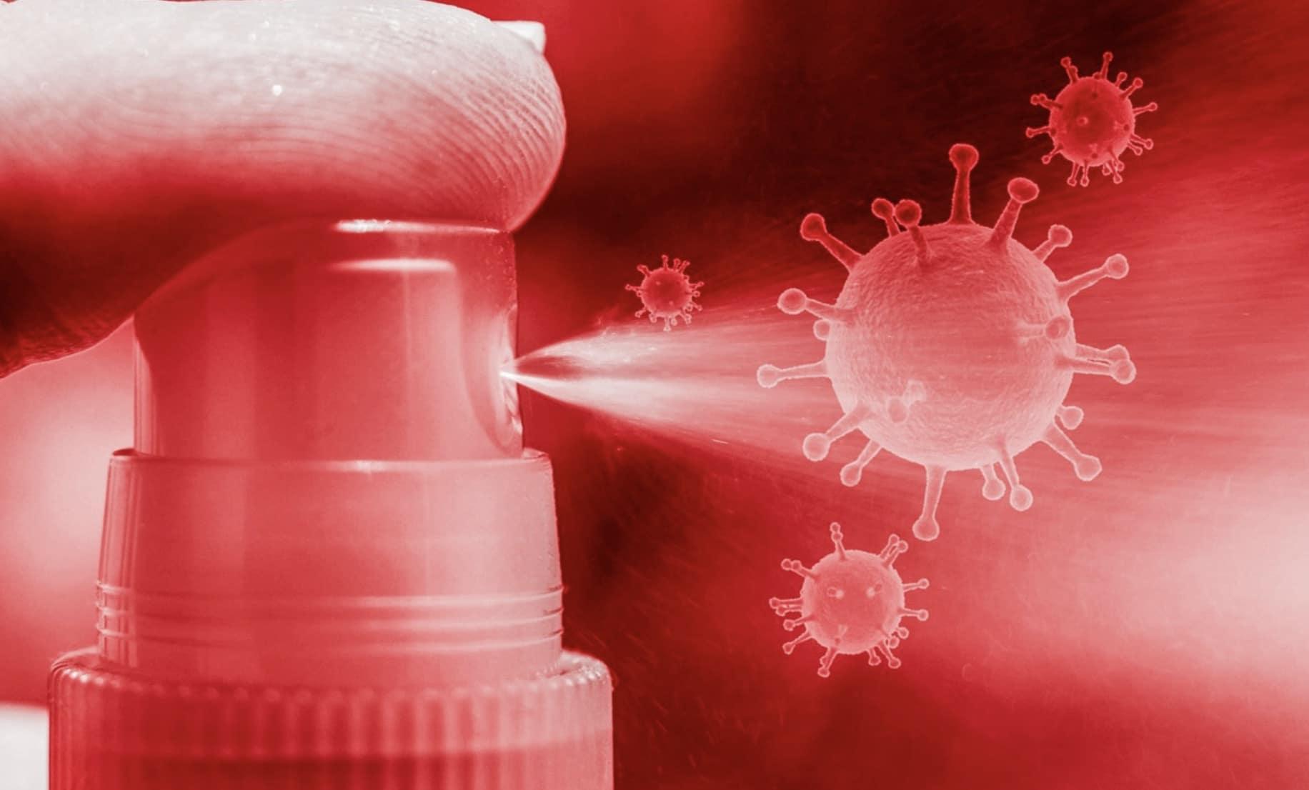 Spray contre le coronavirus